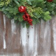 Stock Photo: Christmas garland