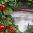 Christmas garland — Stockfoto
