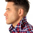 Attractive young man profile - Foto de Stock