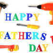 Father's day card - Foto Stock
