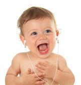 Baby music — Stock Photo
