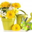 Easter Spring floral - Stock Photo
