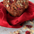 Stock Photo: Cranberry brmuffin