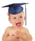 Graduate baby — Stock Photo