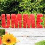 Watermelon summer — Stock Photo