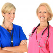 Two female nurses — Stock Photo