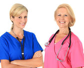 Two female nurses — Stock fotografie