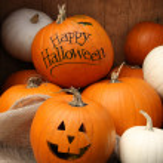 Halloween pumpkins — Stock Photo #32751341