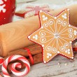 Christmas cookie — Stockfoto