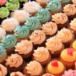 Stock Photo: Multiple cupcakes
