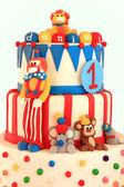 Doğum günü pastası — Stok fotoğraf