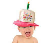 Mutlu yıllar bebeğim — Stok fotoğraf
