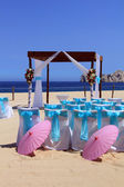 Beach wedding — Stok fotoğraf