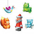 New Year, Christmas children Gifts — Stock Photo