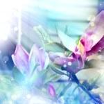 Magnolia flowers — Stock Photo #24446585