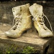 Stock Photo: Old boots