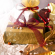 Royalty-Free Stock Photo: Gift box with red bow