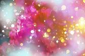 Purple sun bright and blur background — Stock Photo