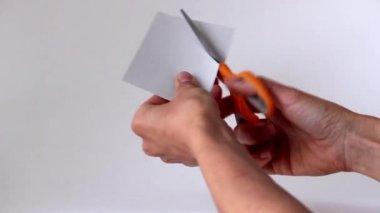 纸的心 — 图库视频影像