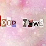 Good News — Stock Photo