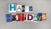 Wesołych świąt, pozdrowienie — Zdjęcie stockowe