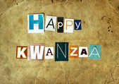 Happy Kwanzaa — Stock Photo