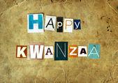 Happy Kwanzaa — Stock Photo