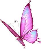 Brillante mariposa — Vector de stock