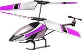 Modelo de juguete helicóptero en vuelo — Vector de stock