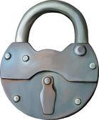 Metal Lock — Stock Vector