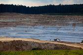 Glass sand quarry — Stock Photo