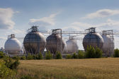 Chemical tanks — Stock Photo