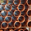 Plastic pipes - Stock Photo