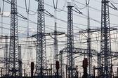 Electricity distribution — Stock Photo
