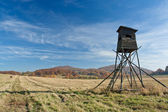 Hunting tower — Stock Photo