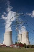 Nuclear powe plant — Stock Photo