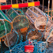 Crab and lobster pots — Stock Photo