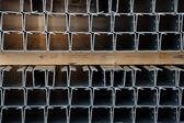 Steel profiles — Stock Photo