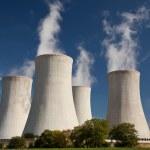 Nuclear powerplant — Stock Photo
