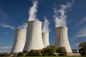 Nuclear powerplant — Stock Photo