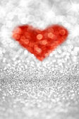 Sparkling Heart — Stock Photo