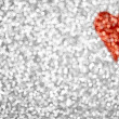 Royalty-Free Stock Photo: Glitter Heart Background