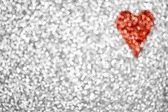 Glitter Heart Background — Stock Photo