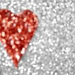 Glitter Heart Background — Stock Photo #38683867