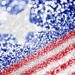 Patriotic American Flag Background — Stock Photo #47106615