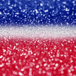 Red white and blue glitter — Stock Photo #47176573