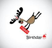 Happy Birthday to one — Stock Vector