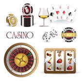 Icon casino — Stock Vector