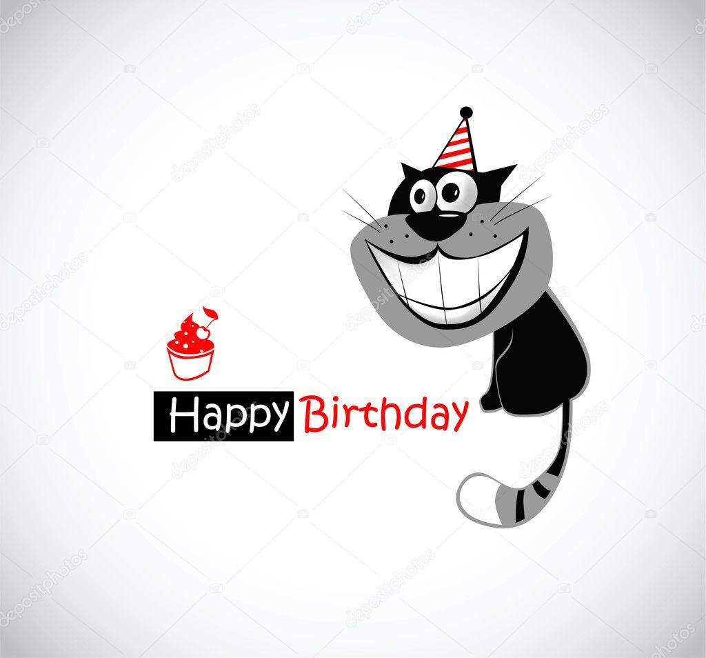 Funny Cat Happy Birthday Images