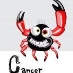 Cancer zodiac — Stock Vector #16203891